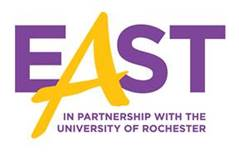 east u of r logo